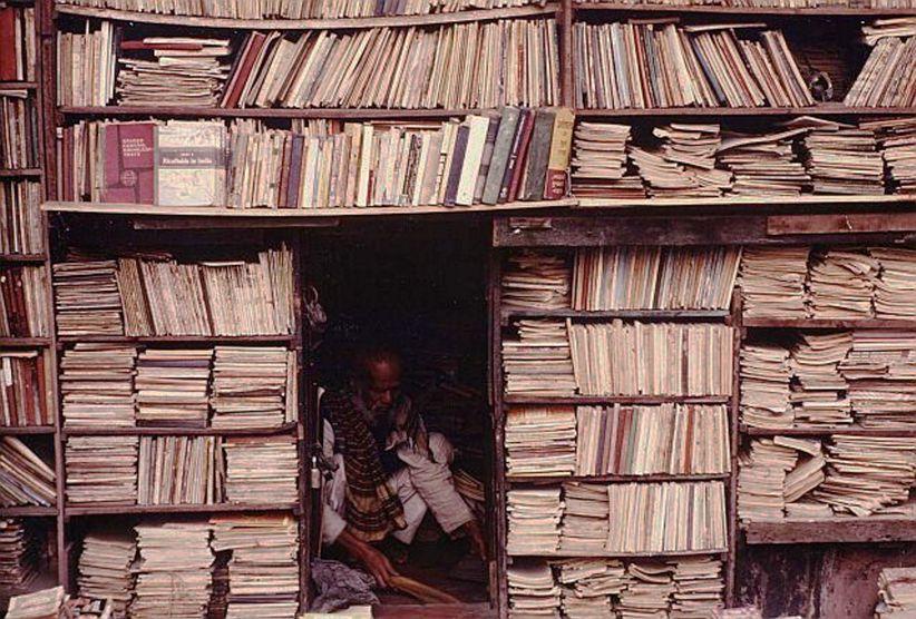 Cramped Bookstore, Calcutta
