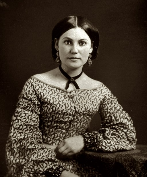 Early Photography - A mid-nineteenth century woman