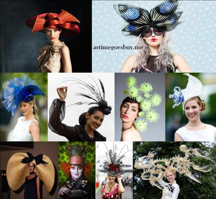 This years Spring Racing Carnival hats. b53b22a4272