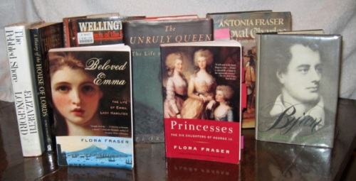 These non-fiction titles from my personal shelves were all penned by members of Lady Elizabeth Longford's family.l